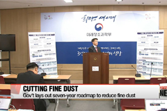Gov't lays out roadmap to reduce fine dust