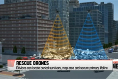 Korean researchers contribute to rescue drone technology