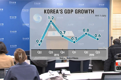 Korea's economy grows 0.6% in Q3 q/q: BOK