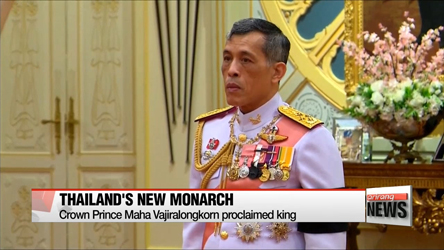 Thailand welcomes new king