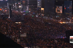 Sixth mass protest held in Seoul to demand president's resignation
