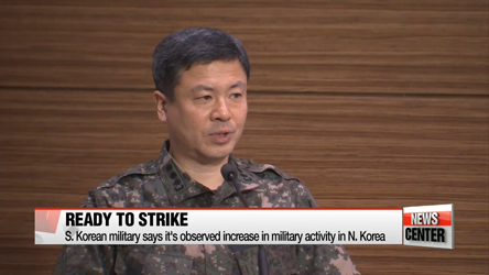 S. Korean military stands ready to counter N. Korean provocations