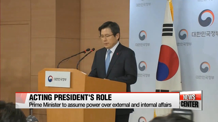 S. Korea's Prime Minister says he will reflect public's voice in running state affairs