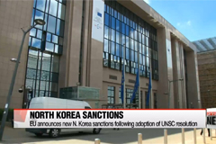 EU announces new N. Korea sanctions following adoption of UNSC resolution