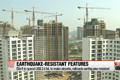 Gov't laids out plan to guard against future earthquakes