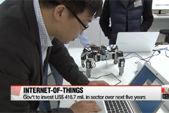 Gov't to invest millions in developing IoT tech