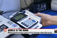 Mobile payment service usage spikes in Korea