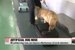 U.S. team develops 3D-printed dog nose to enhance detection devices