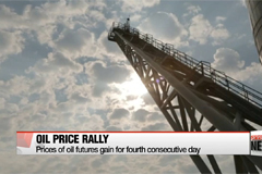 Oil prices rally for fourth consecutive day