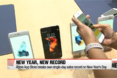 Apple App Store breaks single-day sales record on New Year's Day