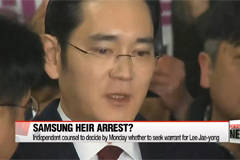 Independent Counsel to decide on arrest warrant for Lee Jae-yong on Monday