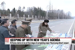 N. Korea claims it is at final stages of completing major project of Ryomyong Street