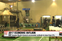 IMF lowers South Korea's economic outlook to less than 3%