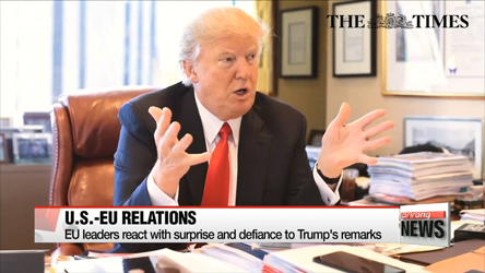 Trump complains at NATO countries for not paying defense share