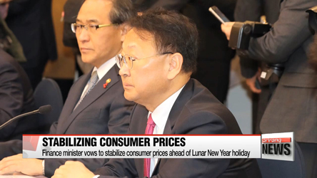 Finance minister vows to stabilize consumer prices ahead of Lunar New Year holiday