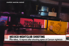 Five killed, 15 injured after shooting spree at Cancun nightclub