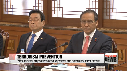 PM emphasizes need to prevent and prepare for terror attacks