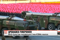 North Korea has manufactured 2 new ICBMs: sources