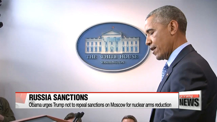 Obama defends sanctions imposed on Russia