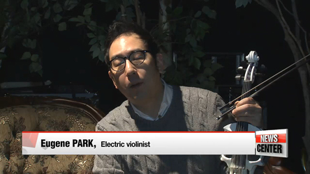 Electric violinist Eugene Park holds 20th anniversary concert