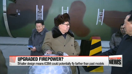 S. Korea's JCS affirms N. Korea can fire ICBM 'anytime and anywhere'