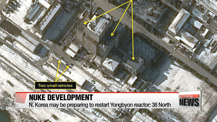 N. Korea may be restarting Yongbyon reactor: 38 North