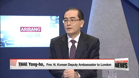 N. Korea to collapse and reunification to come within 5 years ' times: Thae Yong-ho