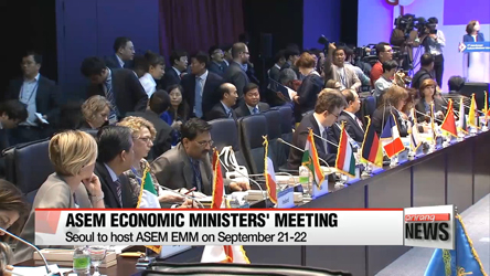 Seoul to host ASEM Economic Ministers' Meeting in September