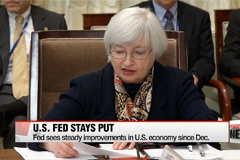 U.S. Federal Reserve holds interest rates steady