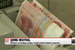 China's latest monetary policies expected to hit Korean financial sector