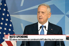 U.S. defense chief threatens less commitment to NATO if they don't spend more