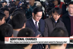 Independent counsel seeking second arrest warrant for Samsung heir apparent