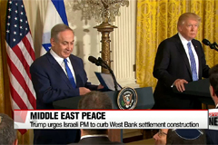 Trump urges Israeli PM to curb West Bank settlement construction