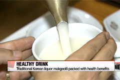 Traditional Korean liquor makgeolli comes packed with health benefits