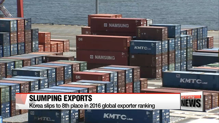 Korea ranks world's eighth largest exporter in 2006