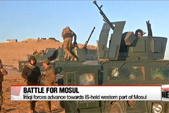 Iraqi forces advance towards IS-held western part of Mosul