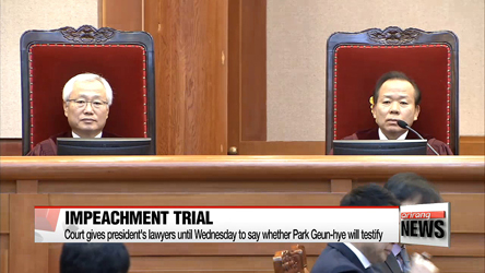Constitutional Court tags Friday as final hearing in impeachment trial