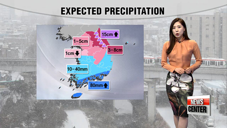 Snow and rain showers in store