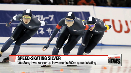Korea takes home silver medals