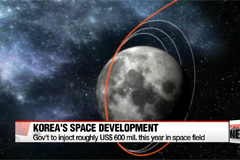 Korean gov't selects 200 core technologies for space development