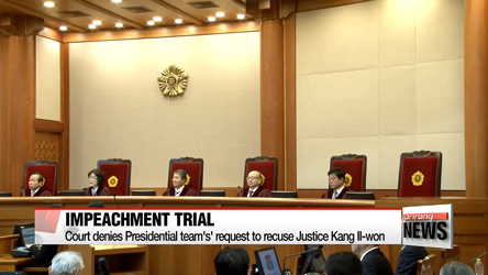 Impeachment trial's closing arguments to be held next Monday