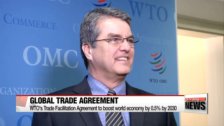 WTO's new global trade deal comes into force