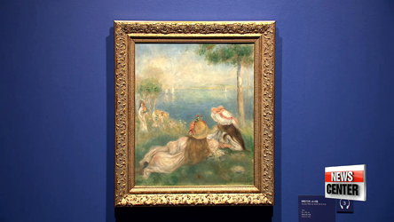 Renoir's portraits of women on display at exhibition in Seoul