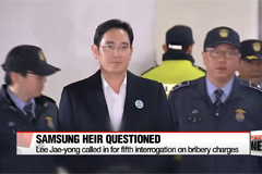 Samsung heir apparent Lee Jae-yong called in for questioning on Sunday
