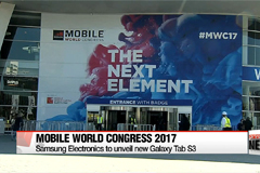 Samsung Electronics to unveil new Galaxy Tab S3 at Mobile World Congress