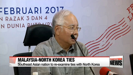 Malaysia to re-examine ties with North Korea