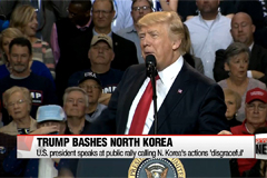 Trump ups criticism of N. Korea as policy takes shape