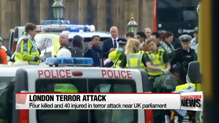 UK police arrest eight suspects in London terror attack