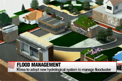 Korea to adopt new hydrological system to manage floodwater