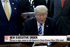 Trump to sign order to scrap Obama's Clean Power Plan: EPA chief